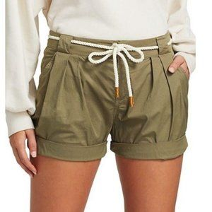 Frame Tie-Up Rolled Shorts 8